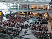 L'aeroporto di Londra Heathrow