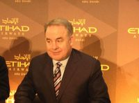 Il ceo di Etihad James Hogan