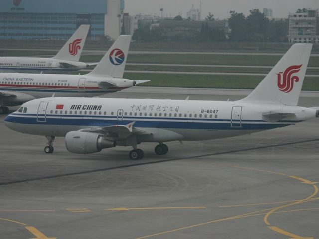 Aerei Air China e China Eastern