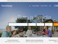 HomeAway - home page