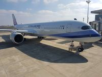 L'A350 Xwb di China Airlines