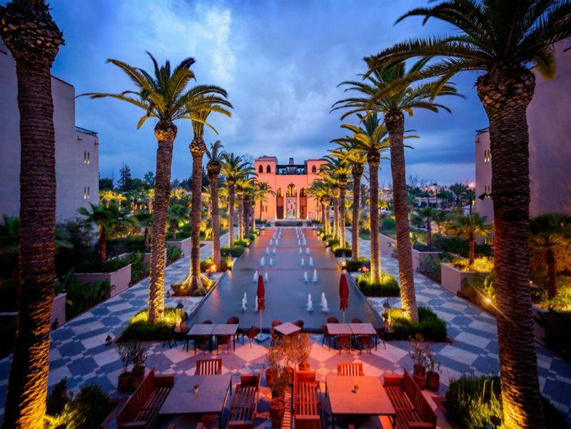 Viaggio a casa di yves saint laurent la proposta del four seasons marrakech ttg italia - Abbonamento cose di casa ...