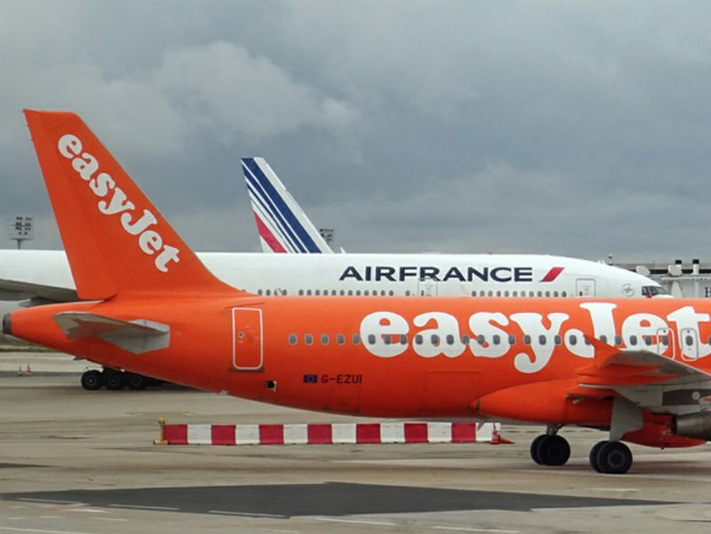 Air France e easyJet