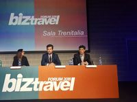 Da sin: Laura Capasa, head of marketing Europe di Travelport, Alessandro Petazzi, ceo di Musement, Antonio Labate, direttore risorse umane di Sony Music Entertainment