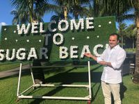 Foto Mauritius  In foto: il general manager dello Sugar Beach, Nicolas B. de Chalain
