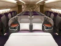 La business class sull'A380 di Singapore Airlines